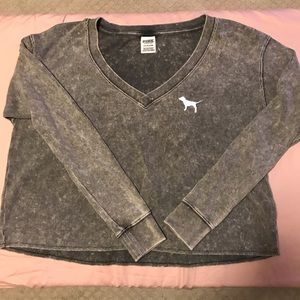Pink Victoria's Secret comfy shirt size S